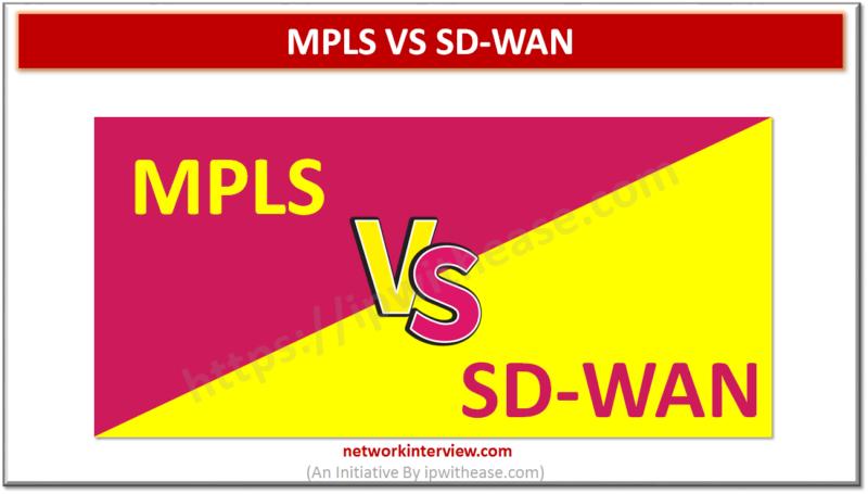 MPLS VS SD-WAN