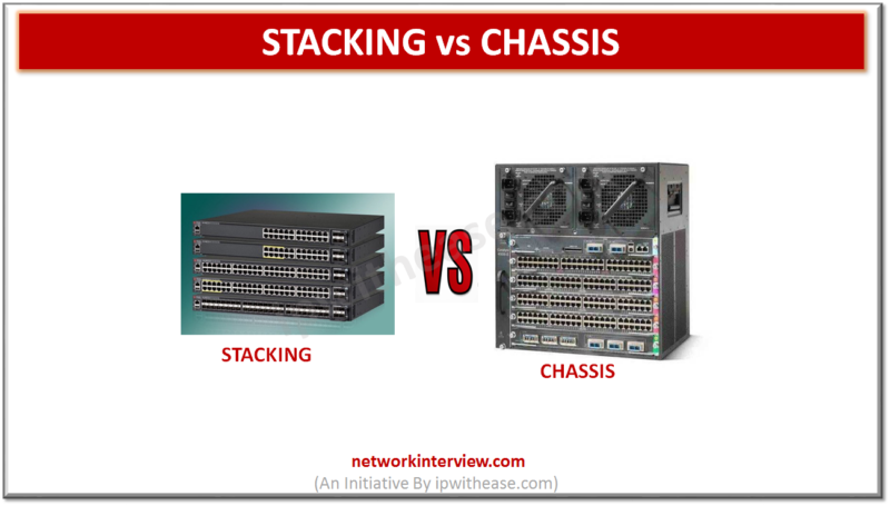 stacking vs chassis