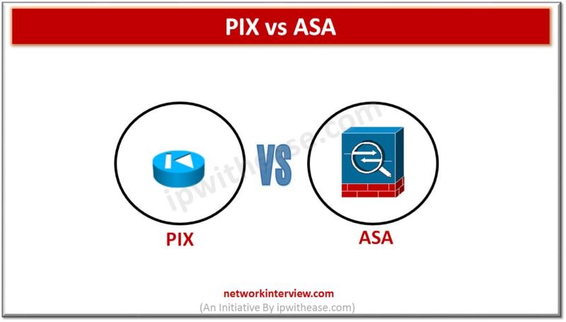 cisco PIX vs cisco ASA