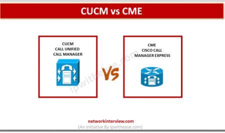CUCM vs CME