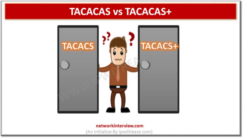 TACACS vs TACACS+