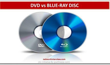 DVD vs BLUE-RAY DISC