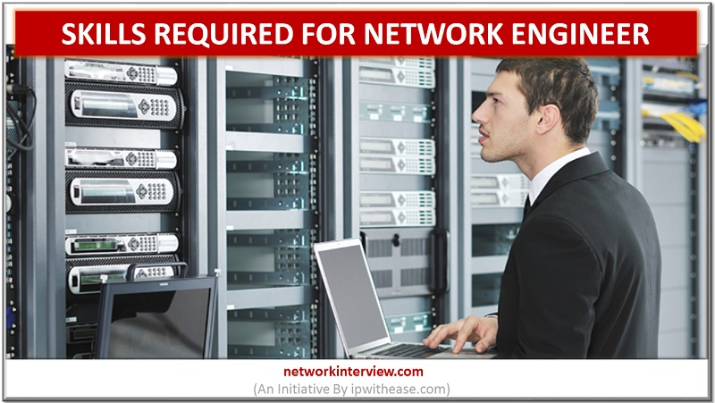 skills required for network engineer