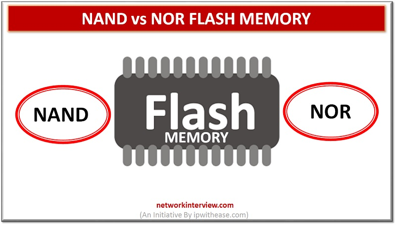 Nand vs Nor Flash Memory