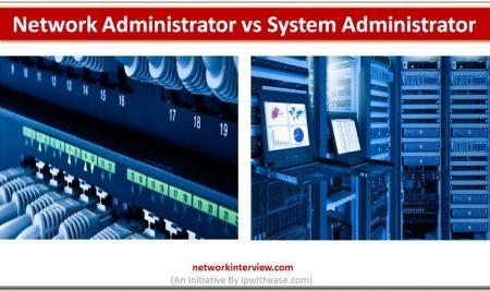 Network Administrator Vs System Administrator