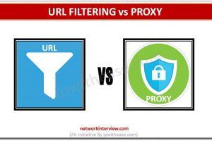URL FILTERING VS PROXY DP