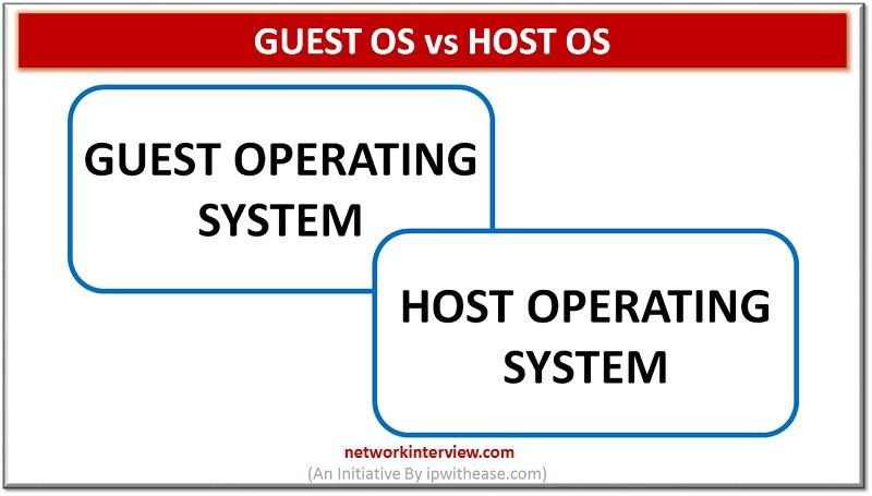 Guest OS vs Host OS