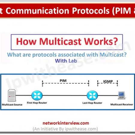 Multicast Communication Protocols (PIM & IGMP)