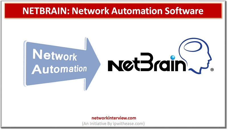 NetBrain: Network Automation Software
