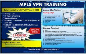 MPLS VPN TRAINING