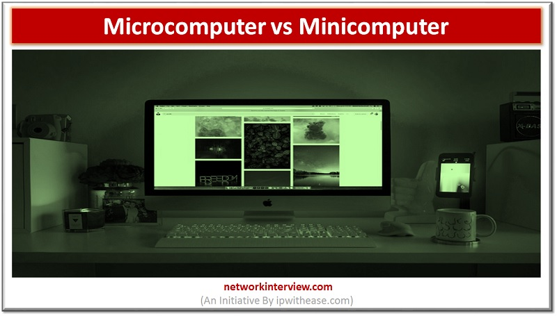 microcomputer vs minicomputer