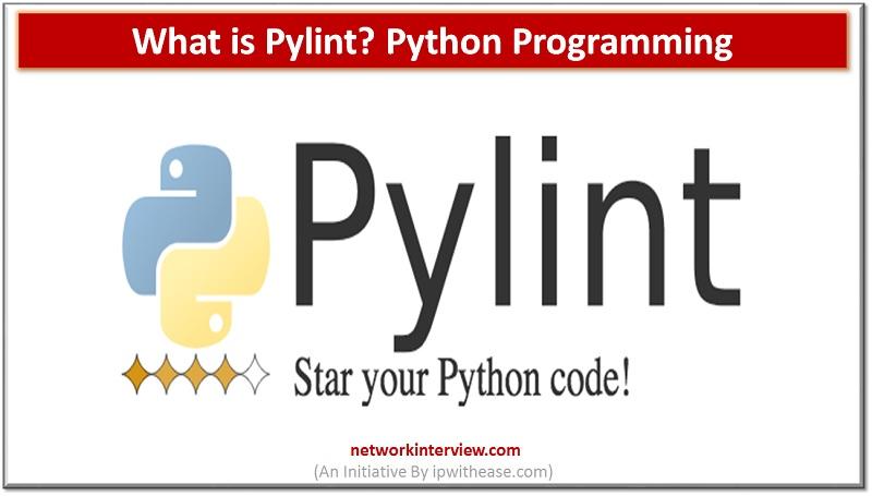 Pylint Python Programming