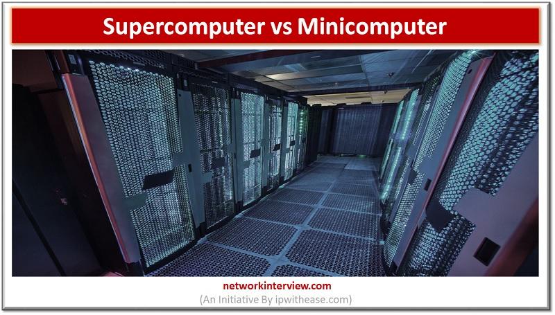 supercomputer vs minicomputer