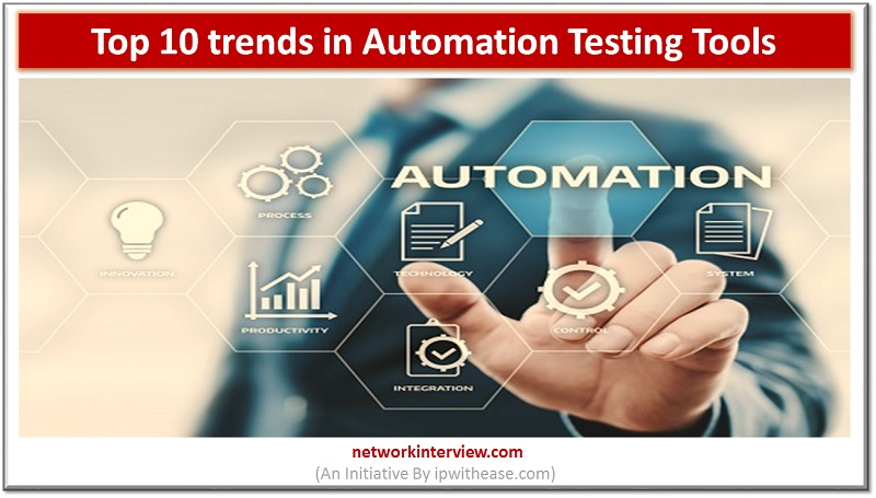 Top 10 trends in automation testing tools