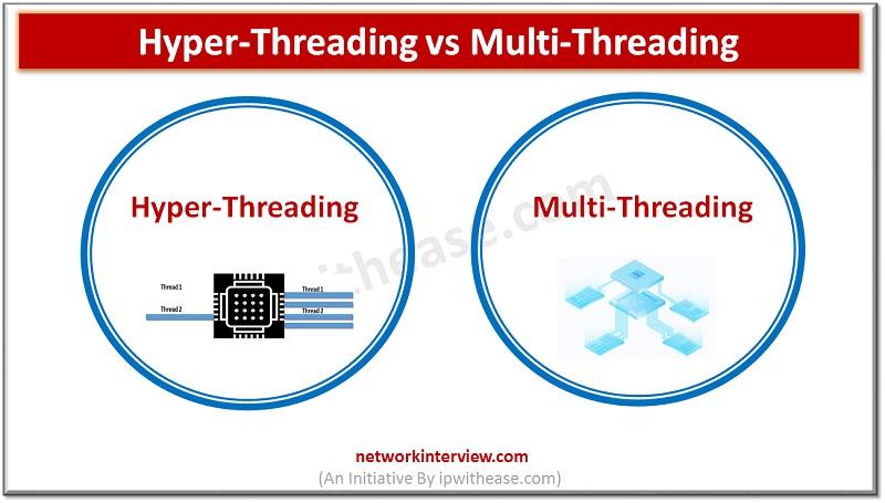 hyper-threading vs multi-threading