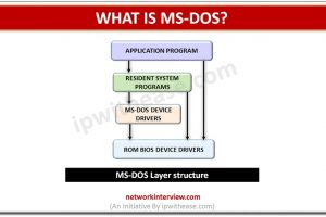 what is ms-dos