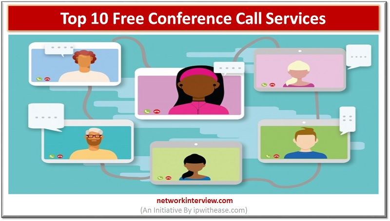 top 10 free conference call services