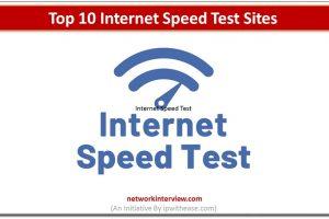 ttop 10 internet speed test sites