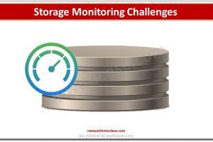 storage monitoring challenge